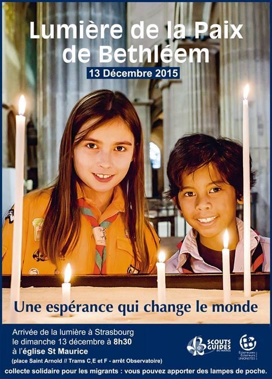 Lumière de la Paix de Bethléem